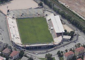 Stadio Romeo Menti (source: https://it.wikipedia.org/wiki/Stadio_Romeo_Menti#/media/File:Stadio_menti_visto_dall%27alto.jpeg)